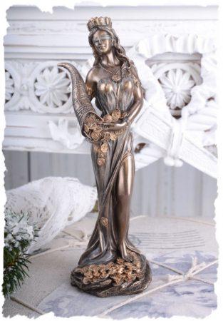 Fortuna istennő  szobor