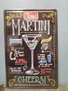 fém kép Martini