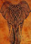 Elefántos textil kép