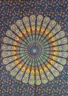 Mandala textil falikép 2
